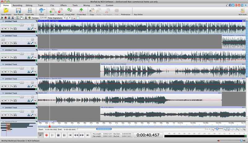 MixPad Masters Edition for Mac