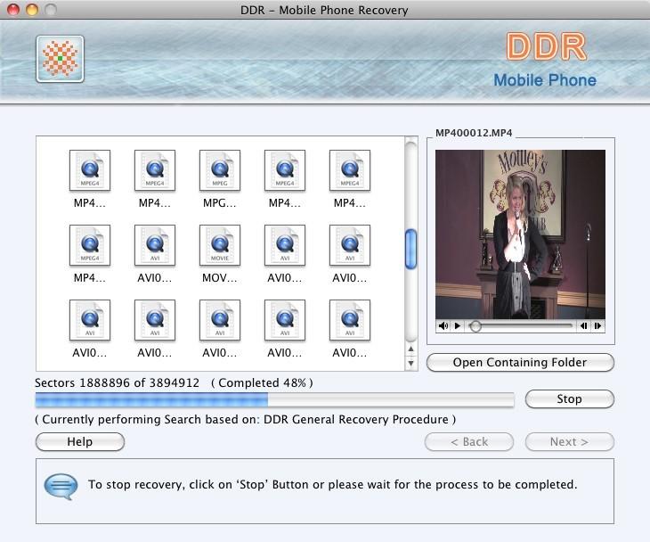 Mobile Phone Mac Files Recover