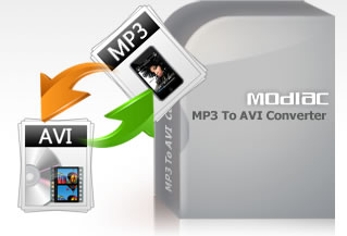 Modiac MP3 to AVI Converter