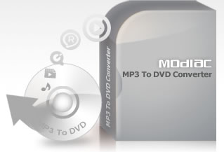 Modiac MP3 to DVD Converter