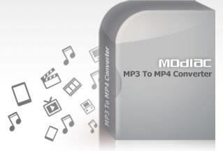Modiac MP3 to MP4 Converter