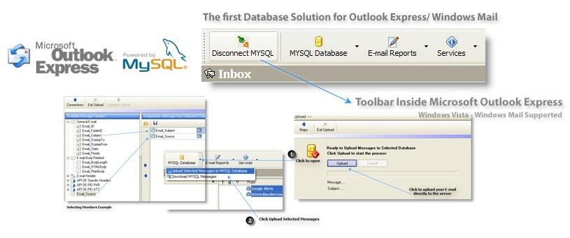 MySQL for Outlook Express