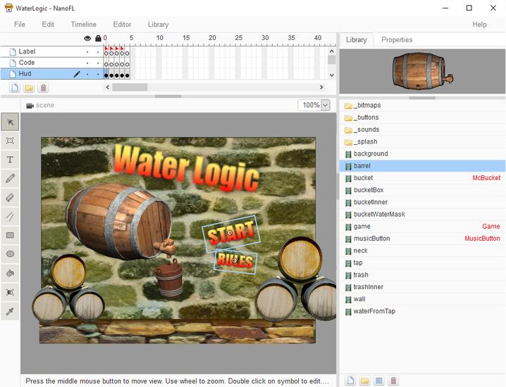 NanoFL Editor