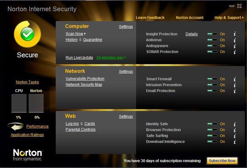 Norton Internet Security for Macintosh