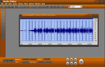 OSS Audio Editor