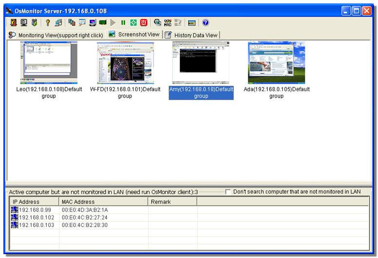 OsMonitor Monitoring Software