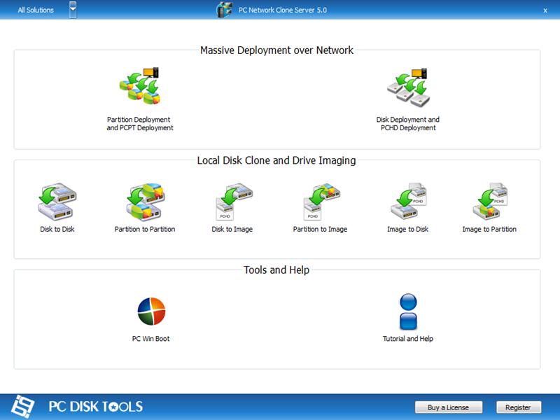 PC Network Clone