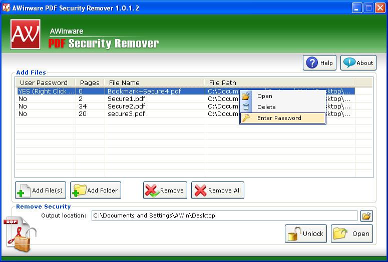 PDF Encryption Remover