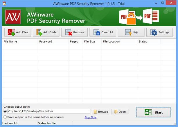 PDF Security Remover v6