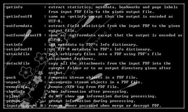PDF Stamper Command Line for Linux