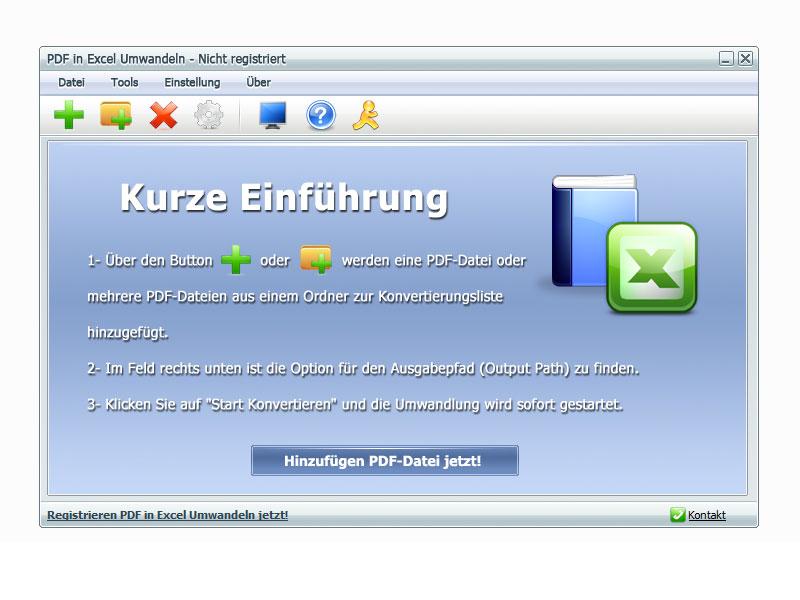 PDF in Excel Umwandeln