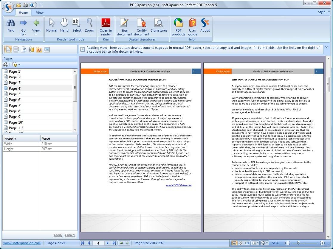 Perfect PDF 6 Reader