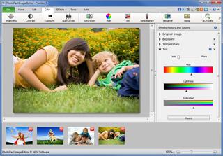 PhotoPad Photo Editing Software Free