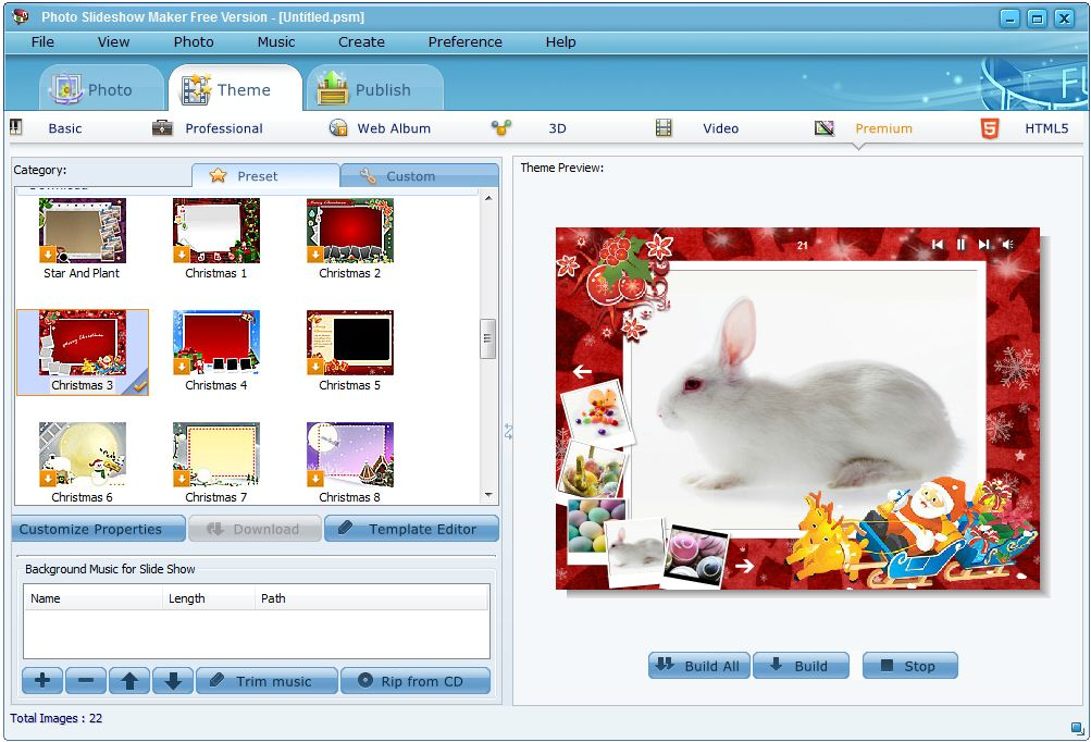 Photo Slideshow Maker Free Version