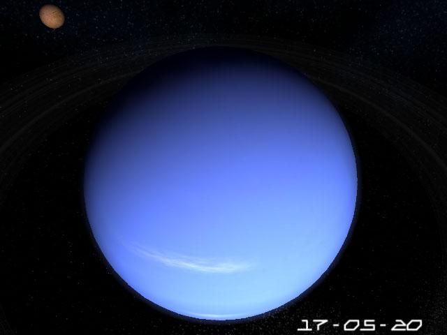 Planet Neptune 3D Screensaver