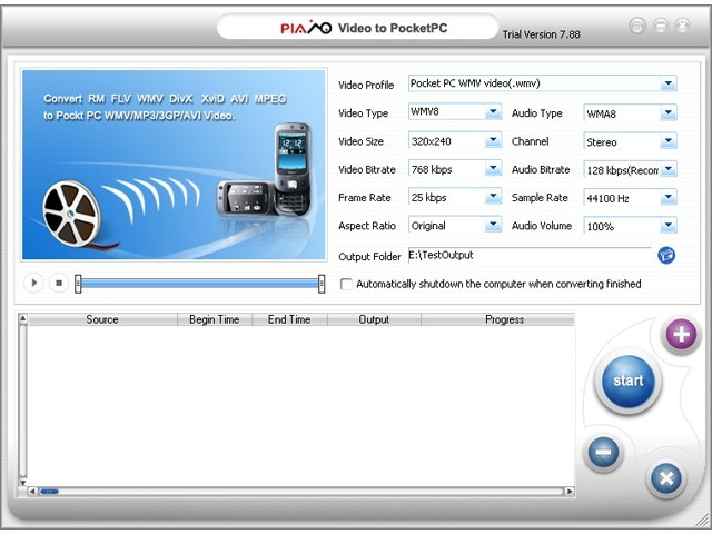 Plato Pocket PC Video Converter