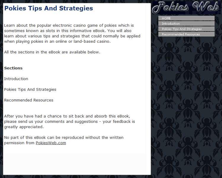 Pokies Tips And Strategies