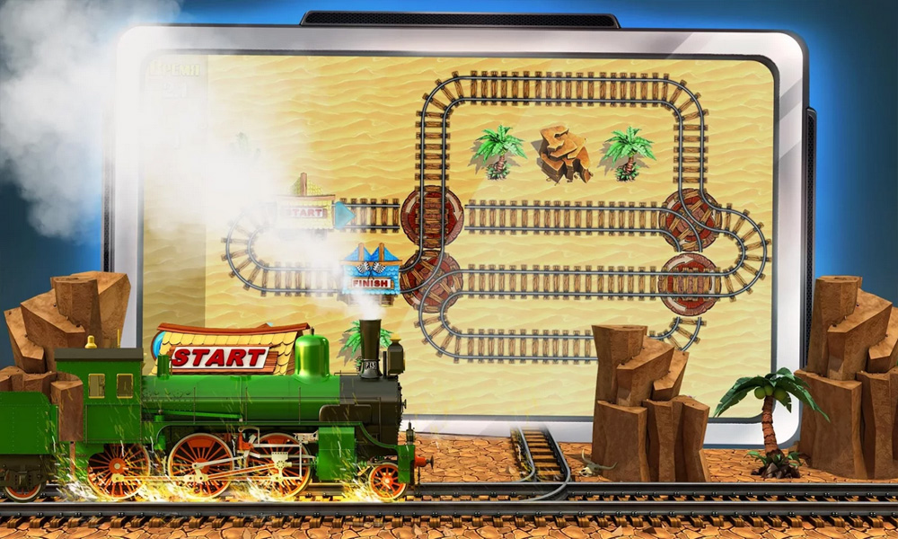 Puzzle Rail Rush for Android