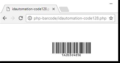 QR-Code PHP Barcode Script