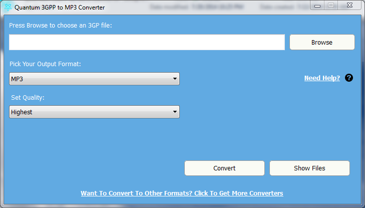 3GPP to MP3: convert 3gpp to mp3 for free online