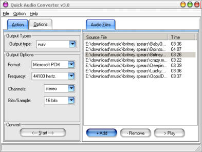 Quick All Audio Converter