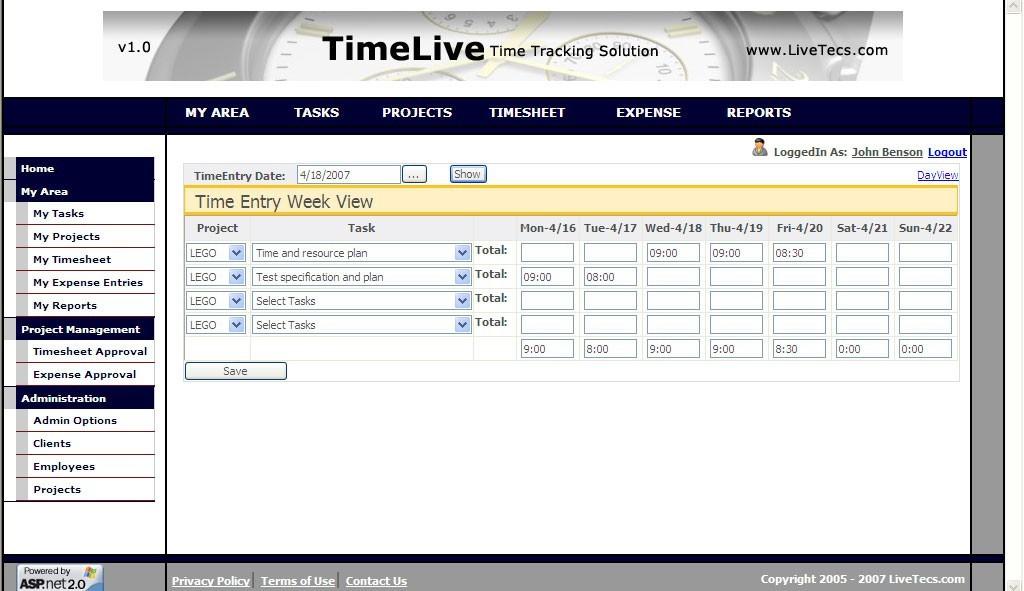 Quickbooks Timesheet