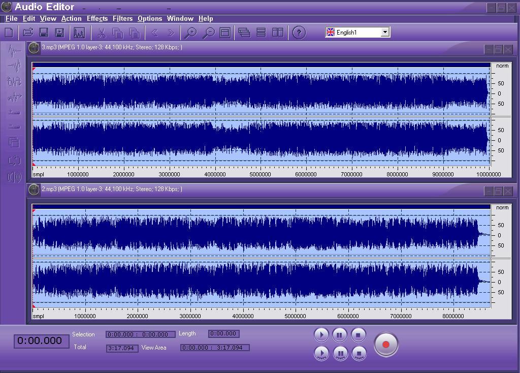 ROBUST Audio Editor