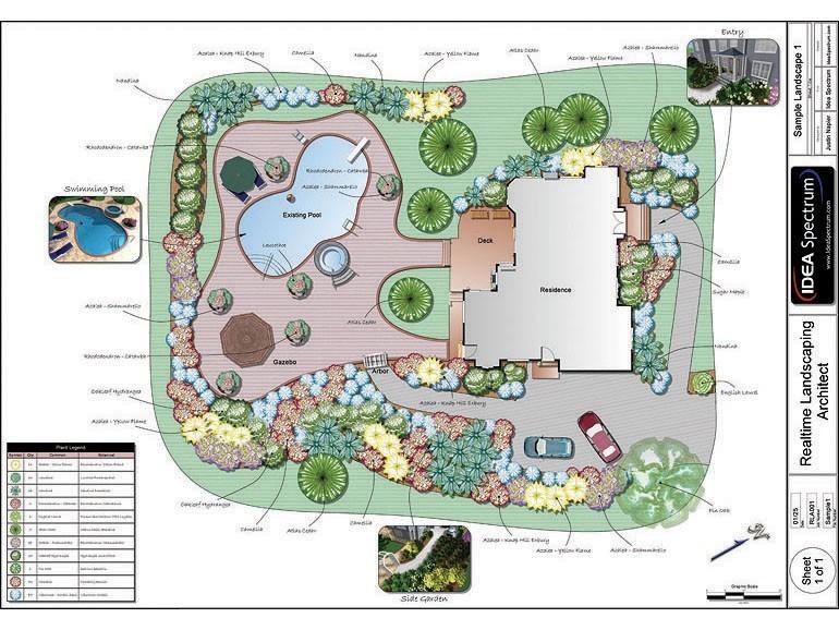 Realtime Landscaping Architect Main Window - Idea Spectrum ...