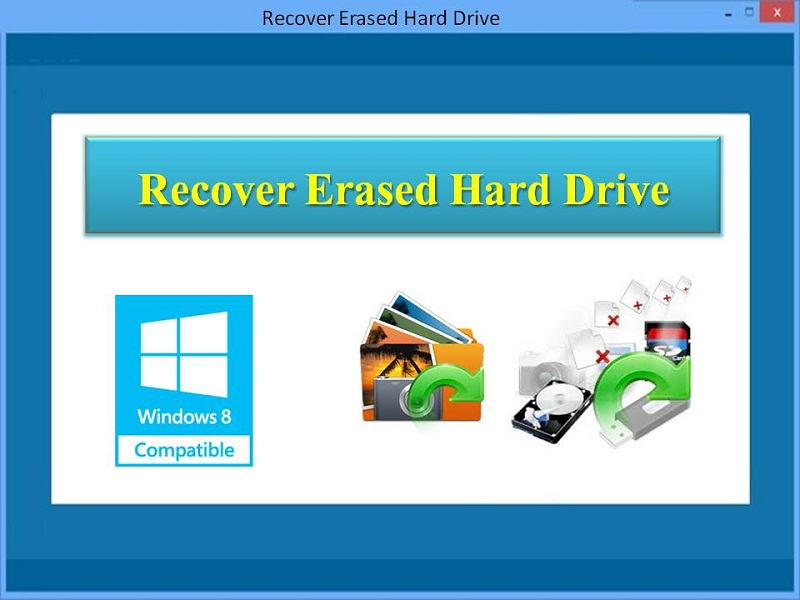 Recover Erased Hard Drive