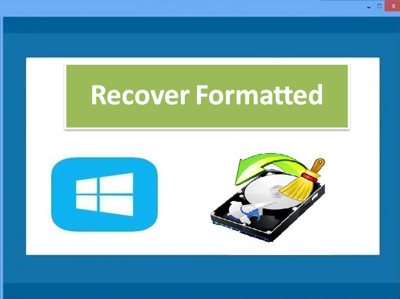 Recover Formatted
