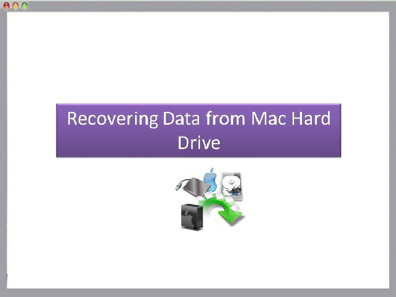 Recovering Data from Mac Hard Drive