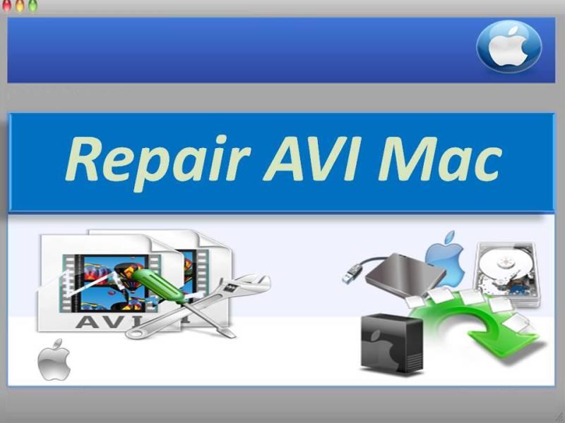 Repair AVI Mac