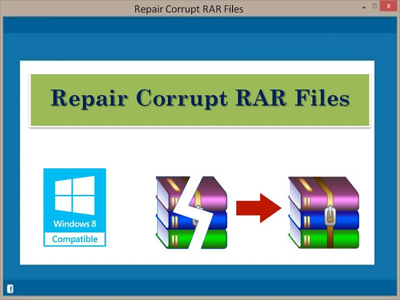 Repair Corrupt RAR Files