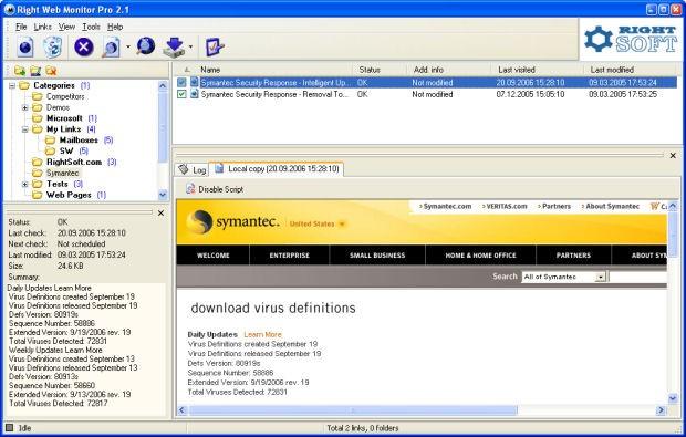 Right Web Monitor Pro