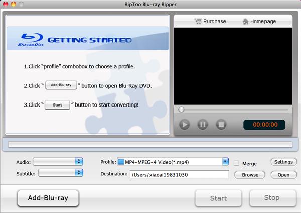 RipToo Blu-ray Ripper for Mac