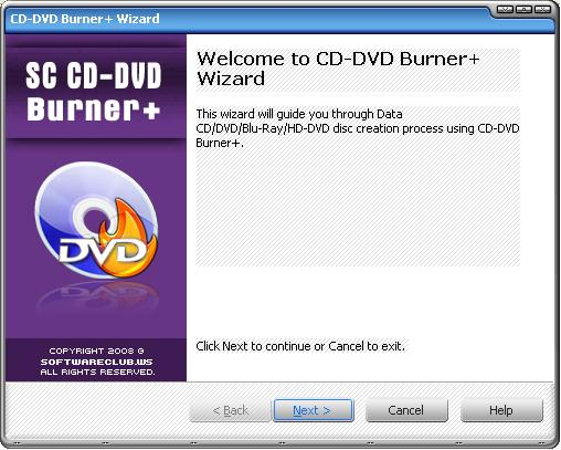 SC CD-DVD Burner