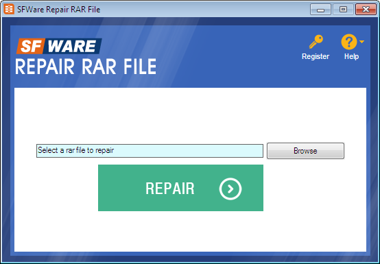 SFWare Repair RAR File
