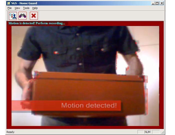 SGS HomeGuard Free VMD software