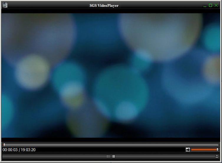 SGS VideoPlayer Free Windows player