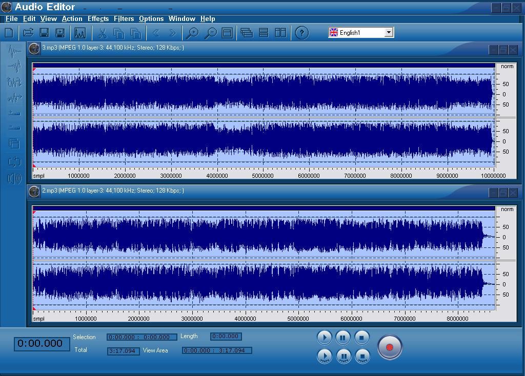 SM Audio Editor