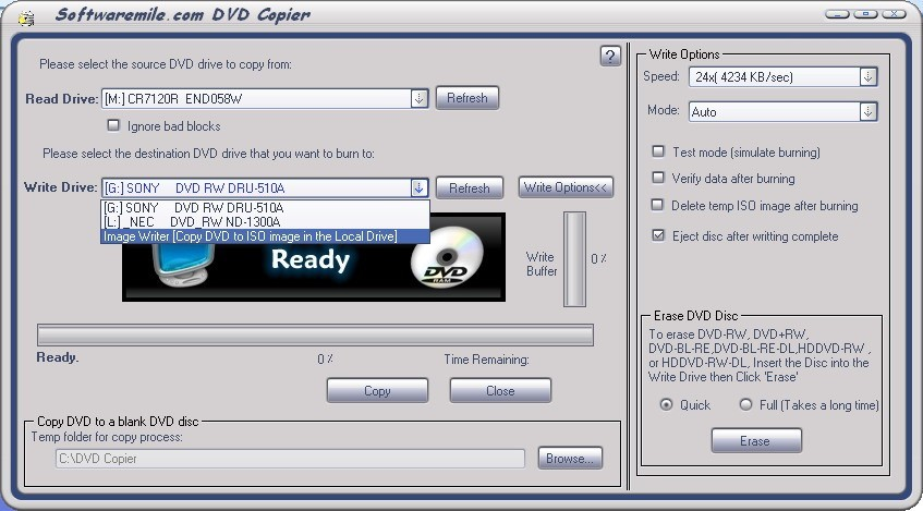 SM DVD Copier