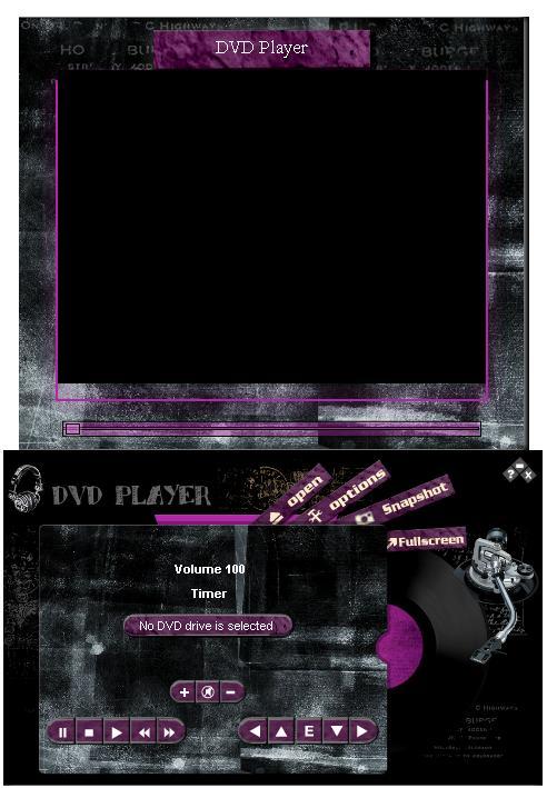 DVD Player Screenshot.