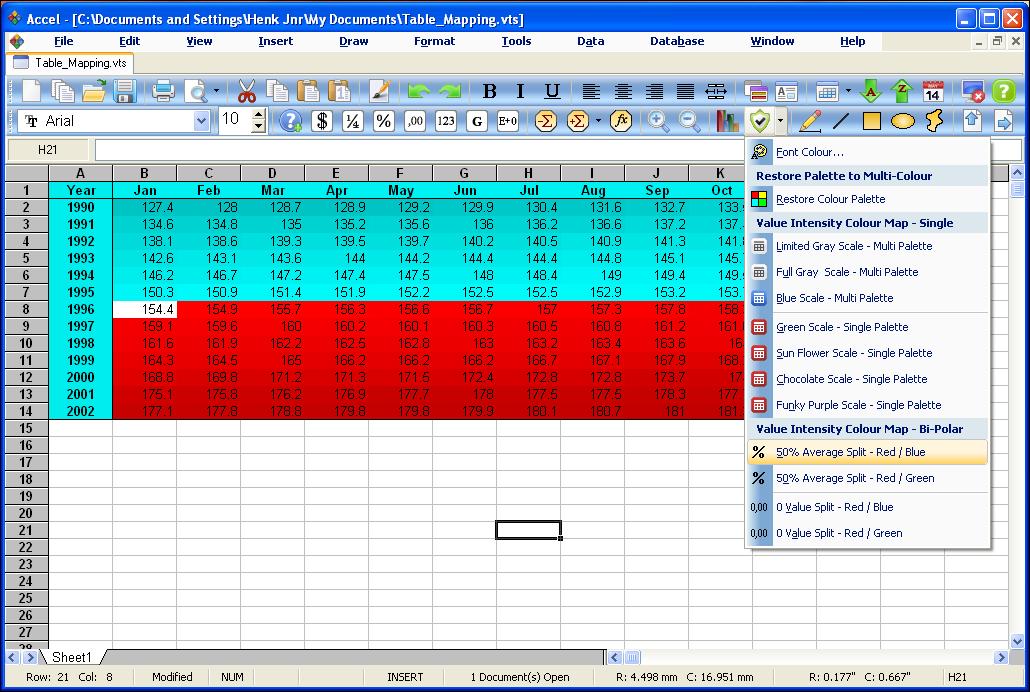 SSuite Office - Accel Spreadsheet