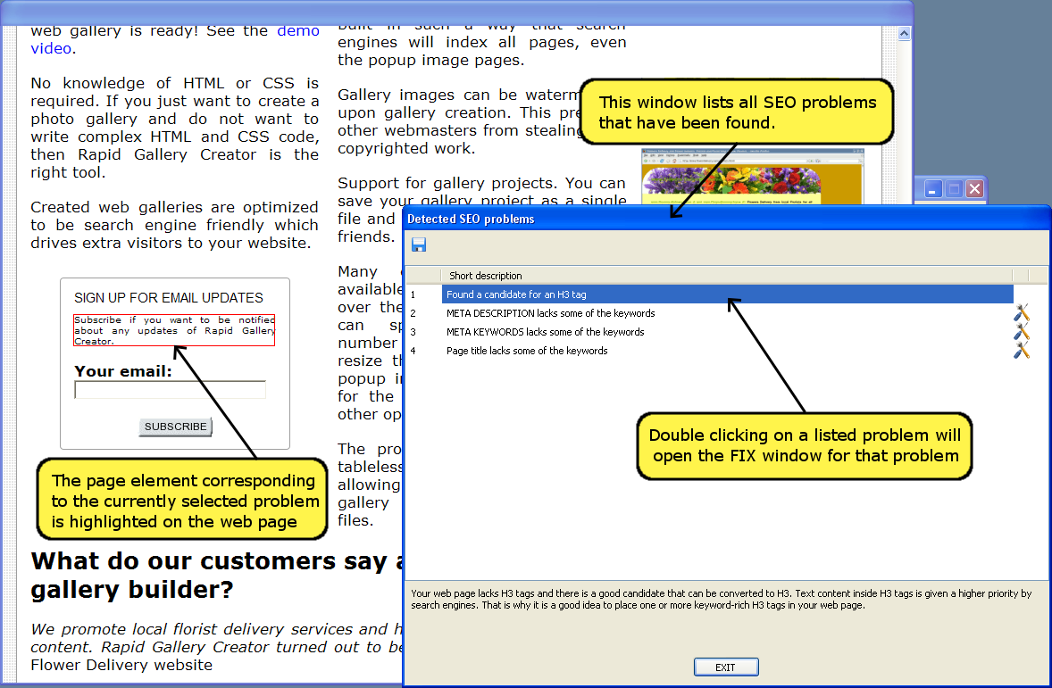 Search Engine Validator