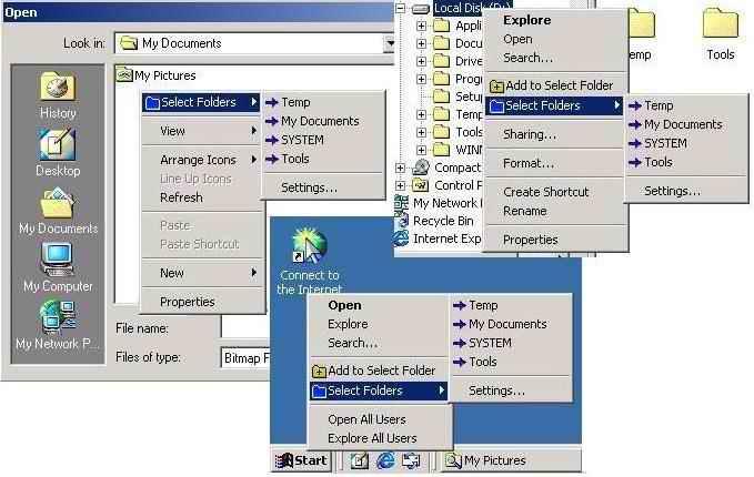 Select Folder Express