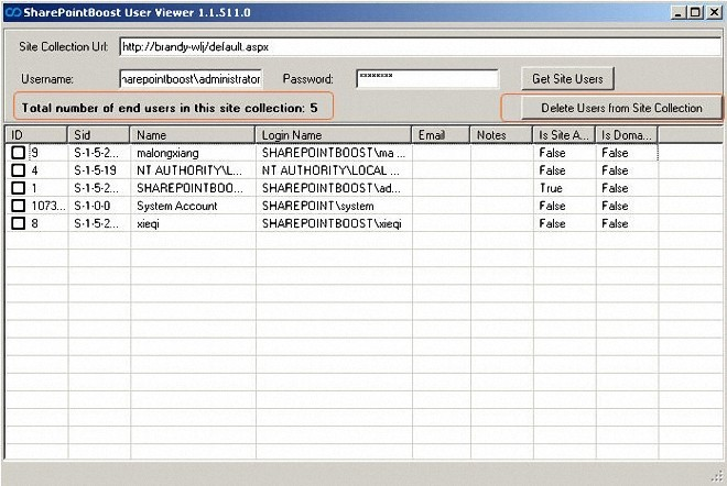 SharePointBoost End User Viewer Tool