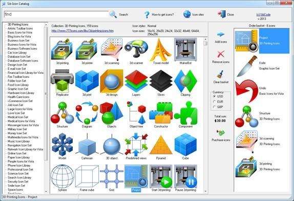 Sib Icon Catalog