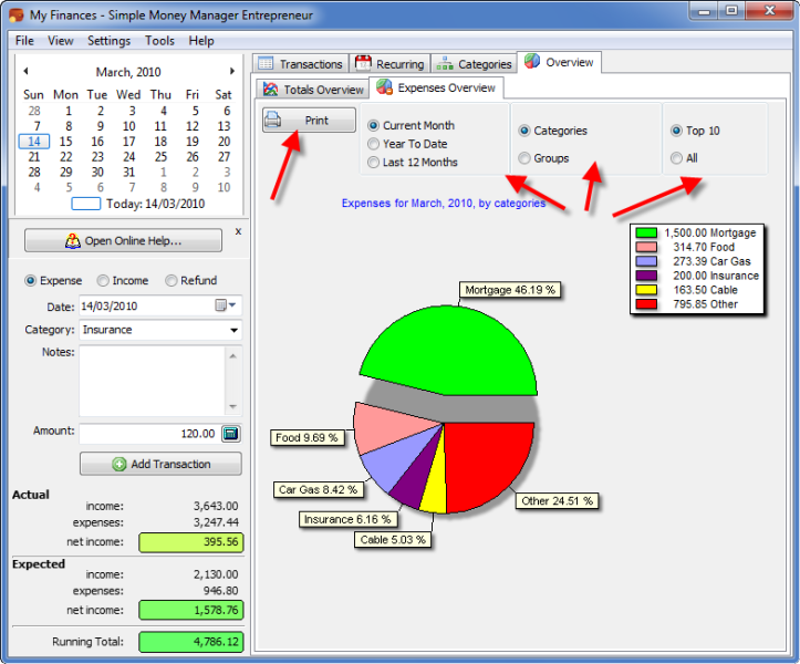 Simple Money Manager Pro