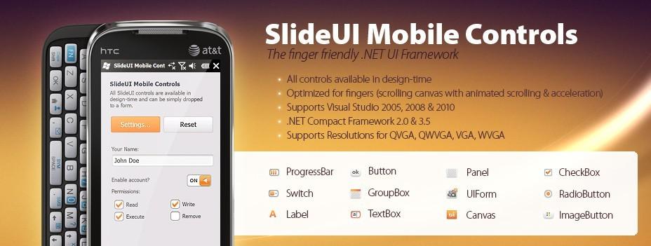 SlideUI Mobile Controls