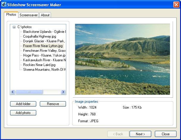 Slideshow Screensaver Maker